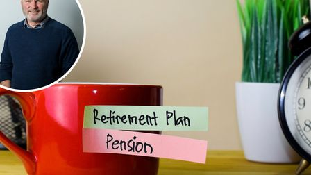 Richard Ross (inset) on whether or not you should extract cash from your pension. Picture: Chadwicks