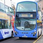 Bus services are being changed in line with the coronavirus restrictions. Picture: Edward Starr