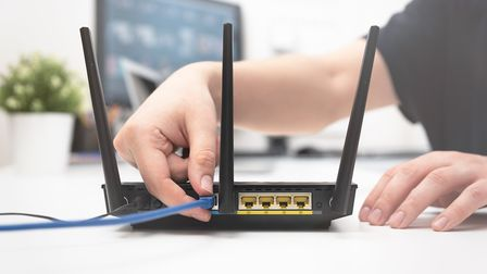 Broadband connection is key when working from home. Picture: Getty Images/iStockphoto