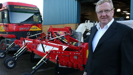 Richard Pratt, who owns Crystal House in Norwich as well as an engineering firm in North Walsham. Pi