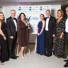 The MHA Larking Gowen team receive their Best Employer award Picture: I Do Photography