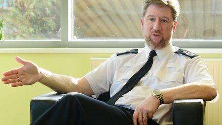 Simon Bailey, chief constable at Norfolk police. Picture: Archant