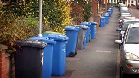Bin collections will be continuing in East Suffolk. PHOTO: Adrian Judd