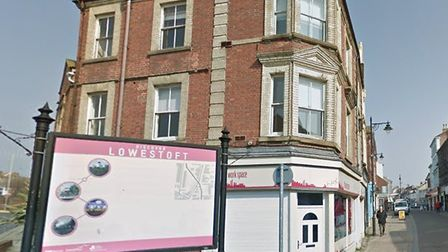 Plans to create new flats at two shop units, currrently available to lease on Lowestoft High Street,