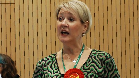 Joanne Rust, who stood as Labour candidate for North West Norfolk at the December general election,