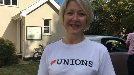 Joanne Rust, a Labour councillor at King's Lynn and West Norfolk Borough Council, defied coronavirus