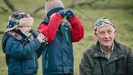 Trevor Williams, chairman of the North East Norfolk Bird Club. Picture: Rob Stohtard