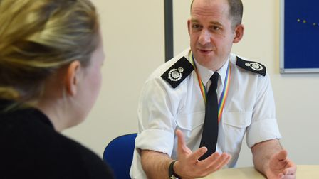 New assistant chief fire officer, Tim Edwards, talks about mental health wellbeing in the fire servi