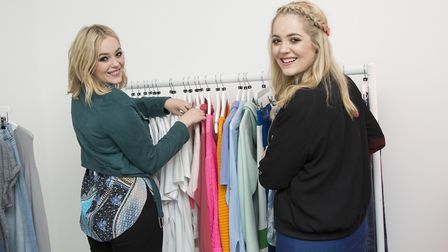 YouTube vloggers Lucy and Lydia Connell. Picture: PA Archive/PA Images