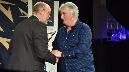 Gareth Hunt won Unsung Hero of the Year at the Stars of Norfolk and Waveney Awards 2019. Byline: Son