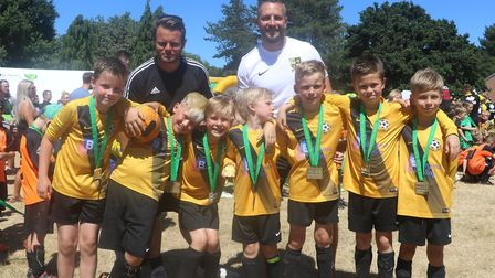 CSF's Summer Cup is one of the many football events organised by the charity Picture: Community Spor