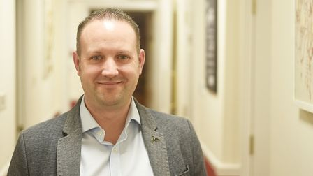 Tom Lyons, managing director of Norwich-based Black Swan Care Group. Picture: Ian Burt