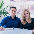 Dr Oskar Wendowski and Dr Thuria Wenbar, founders of e-Surgery Picture: Evelyn Huang