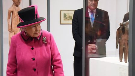 Had things turned out differently, Her Majesty might have been looking at empty cans of Sainsbury's