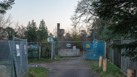 The former site of Pinebanks sports centre in Thorpe, Norwich. Picture: Danielle Booden