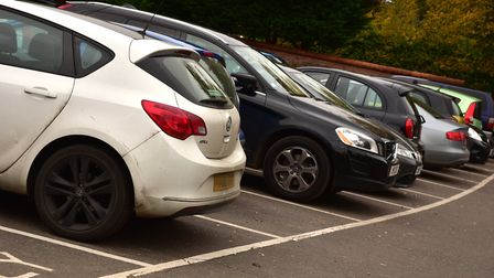 Health workers and volunteers can apply for a permit to park for free. Pic: Sonya Duncan.