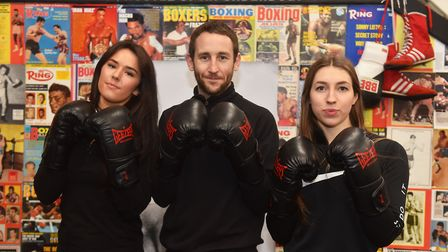Hustle Boxing Classes Bobby Harrison owner and trainer offering specialised boxing classes for women