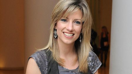 Norfolk actress Claire Goose who has sent a message of support to staff at the QEH in Kings Lynn. Pi