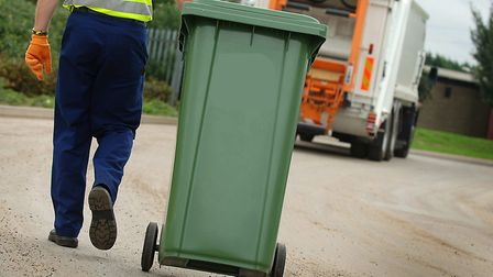 Changes are being made to bin collections in King's Lynn and West Norfolk to maintain social distanc