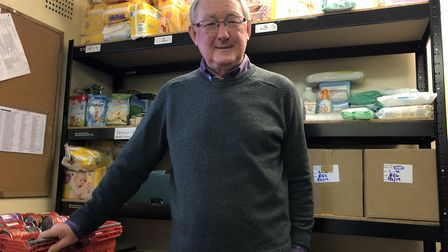 Mid Norfolk Foodbank project manager Dave Pearson said its centres in Dereham, Swaffham and Fakenham