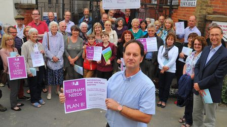 Mark Bridges, from Realistic Reepham, said objectors faced new obstacles to getting their voices hea