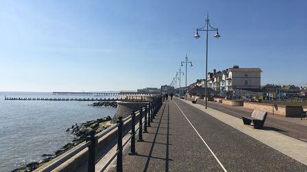 Lowestoft during lockdown on Saturday, April 11, during the Easter weekend. PHOTO: Archant