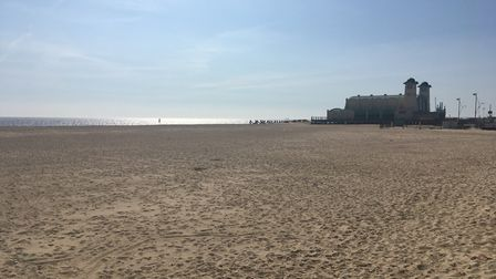Great Yarmouth during lockdown on Saturday, April 11, during the Easter weekend. PHOTO: Archant