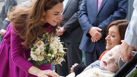 The Duchess of Cambridge opened EACH's new Norfolk children's hospice, The Nook, in November 2019. P