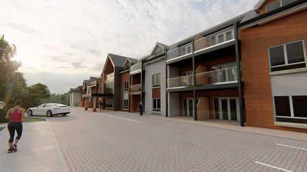 An image of what the proposed development at Acle could look like. Pic: Norfolk County Council.