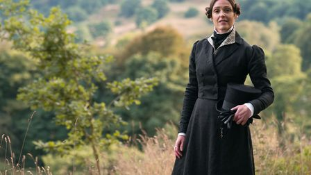 Suranne Jones plays Anne Lister in Gentleman Jack. Picture: BBC/ Lookout Point/ HBO/ Aimee Spinks