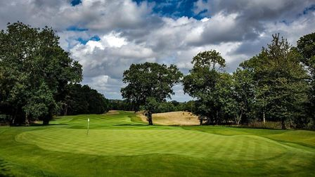 Royal Norwich was runner-up to winner Pinehurst 4, a resort which has played host to US Open. Pictur