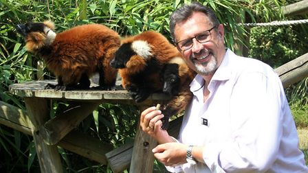 David Field, chief executive of Banham Zoo and Africa Alive! Pic: Archant