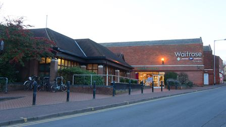 The Waitrose at Eaton, on the edge of Norwich. PHOTO BY SIMON FINLAY