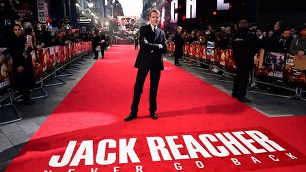Lee Child, author of the Jack Reacher books. Pic: Ian West/PA Wire