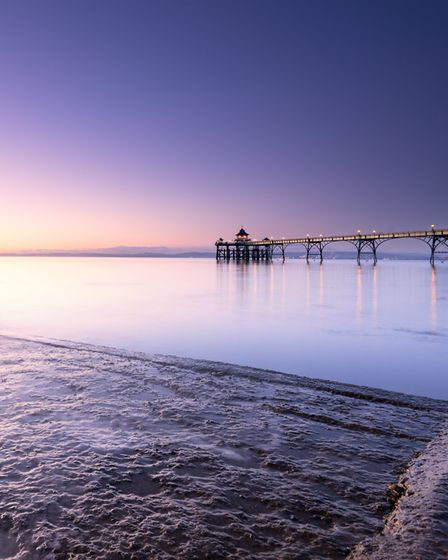 Clevedon pier is elegant, dramatic, eye-catching. Never had a visit from Alan Partridge, though,,,