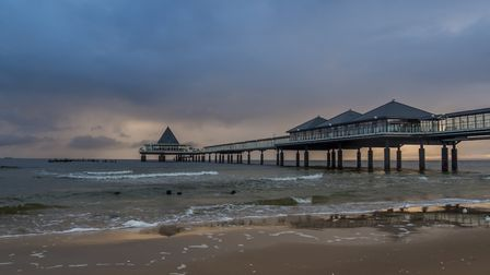 Heringsdorf is the sunniest place in Germany - and has a dramatic pier Picture: Getty Images/iSto