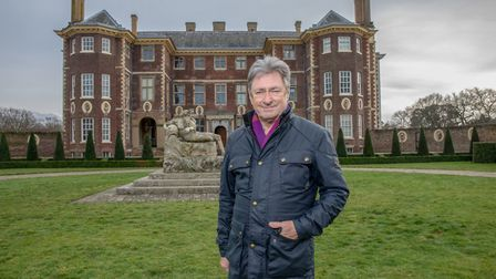 Garrdener and broadcaster Alan Titchmarsh. Picture: Channel 5