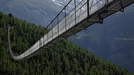 Good head for heights? Try the Charles Kuonen Suspension Bridge in Switzerland - the world's highest