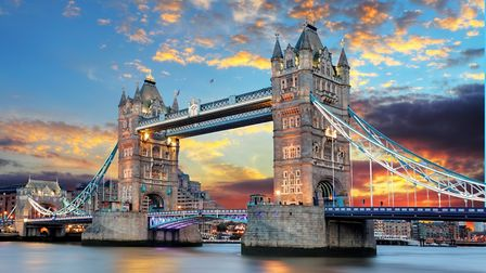 Tower Bridge: a great destination and the gateway to other London bucket-list locations Picture: G