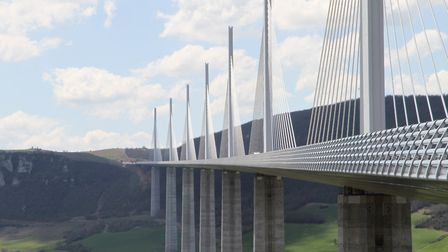 The monumental Millau Viaduct in the south of France Picture: Luca Omboni/Unsplash