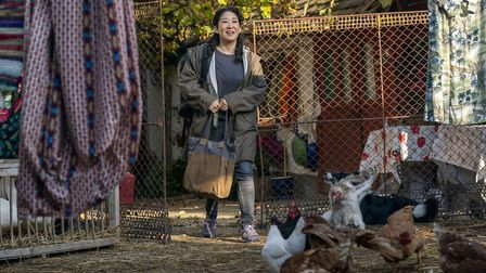 Sandra Oh as Eve in Killing Eve. Picture: Sid Gentle/BBC
