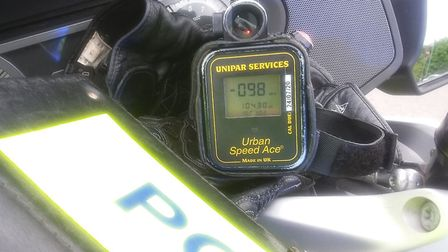 Another speeder was recorded travelling at 98mph by police. Picture: NSRAPT