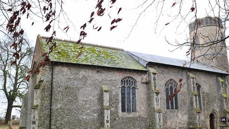All Saints Church at Mettingham. Picture: Nick Butcher