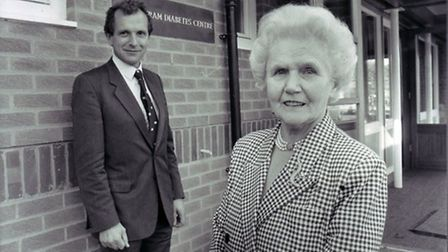 The late Elsie Bertram who founded Bertram's Books. Pic: Archant