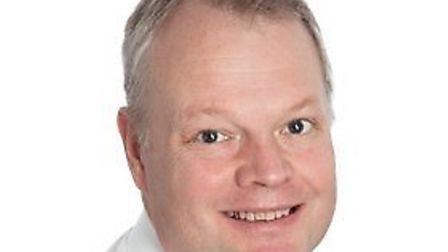 Sam Higginson, the chief executive at the Norfolk and Norwich University Hospital. Photo: NNUH