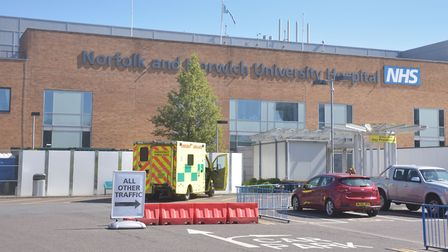 Norfolk and Norwich University Hospital. Pictures: BRITTANY WOODMAN