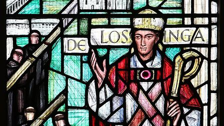 Bishop Herbert De Losinga, who founded Norwich Cathedral. Picture: Paul Hurst