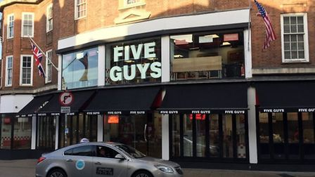 The Norwich Five Guys branch in Orford Place Picture: Archant
