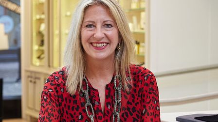 Minnie Moll, CEO of Jarrold, pictured before the coronavirus lockdown. Pic: Archant