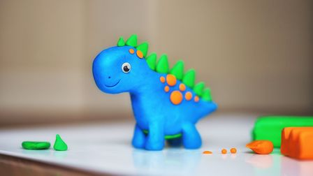 This week's challenge is to make your own dinosaur. Picture: Getty Images/iStockphoto/Natalia Bodrov